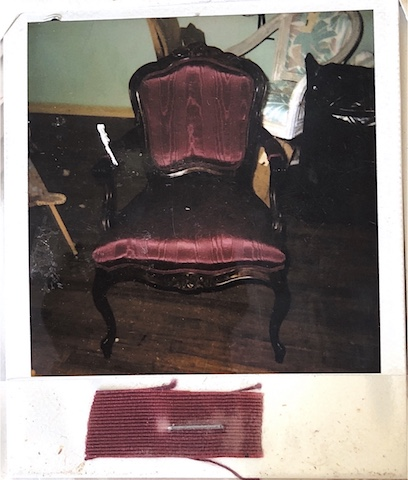Reupholstered Queen Ann Chair at Vegas Upholstery