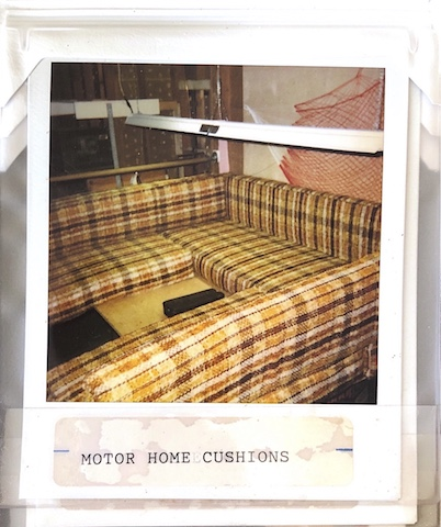 RV Seats Reupholstered at Vegas Upholstery in 1993