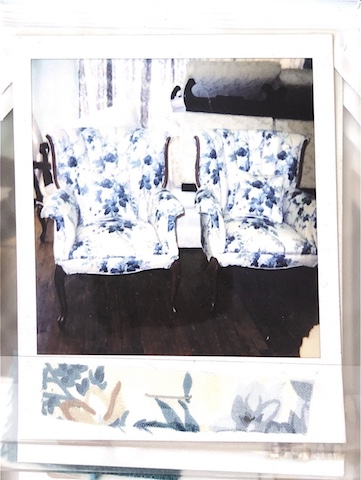 Set of Vintage Chairs reupholstered by Vegas Upholstery