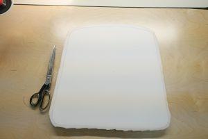 Foam cutout 3/ www.vegasupholstery.com