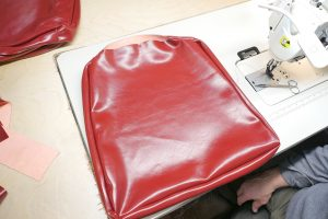 Sewing Cushion Pt.9 / www.vegasupholstery.com
