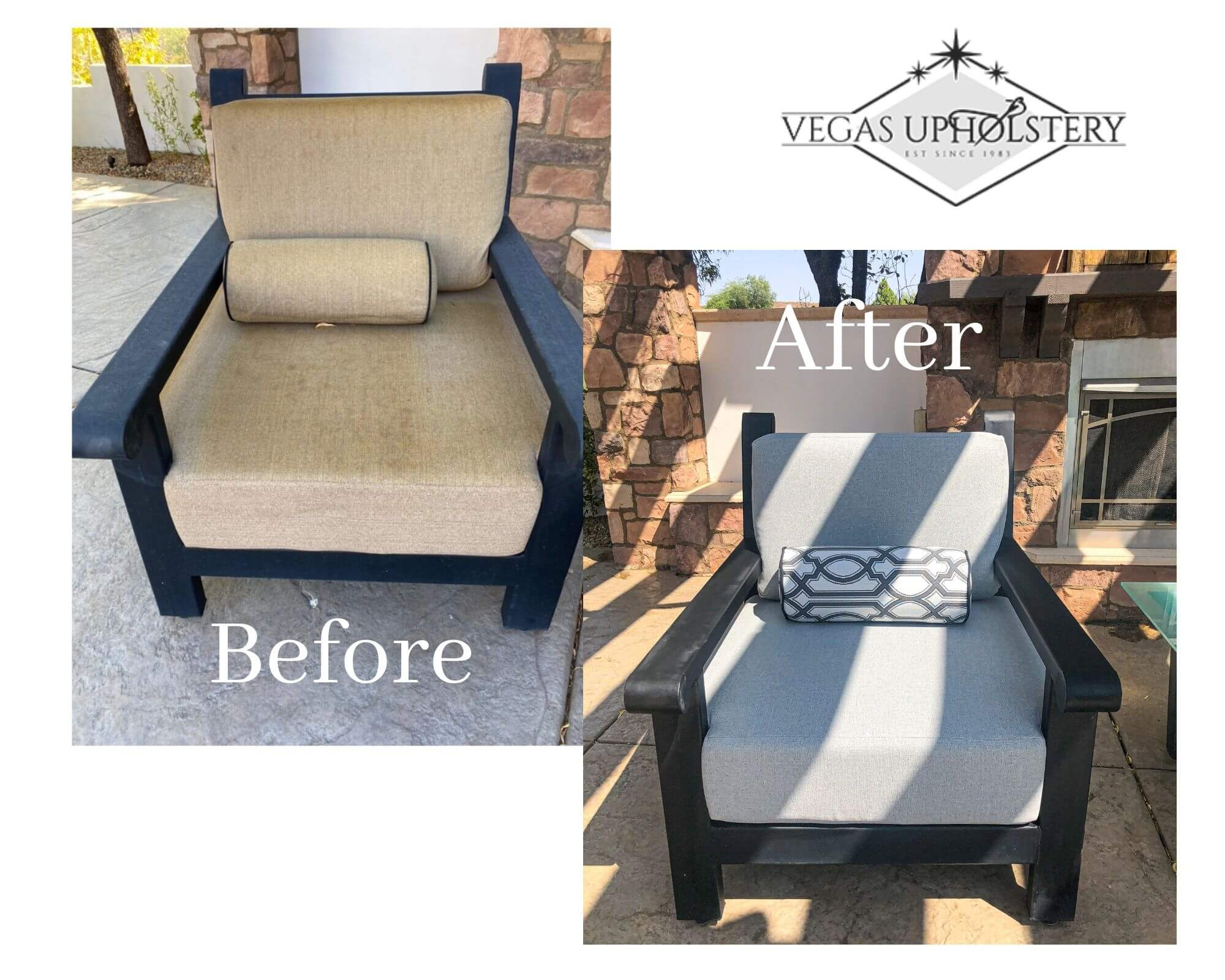 Vegas upholstery Patio Chair