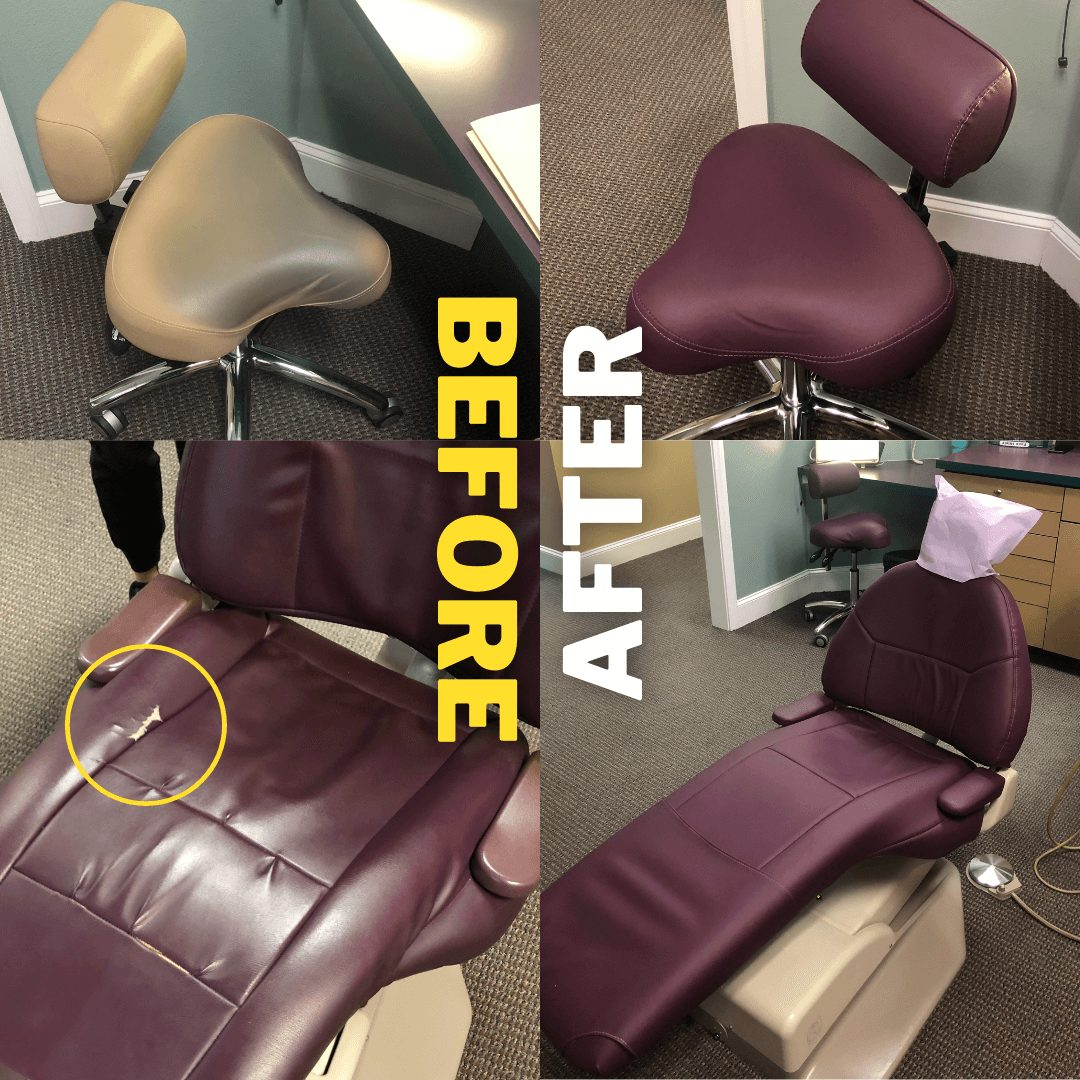 Medical Office Reupholstery