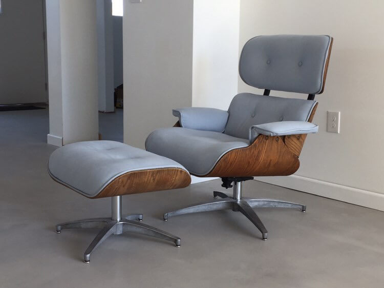 Vegas Upholstery Eames Chair w/ Ottoman