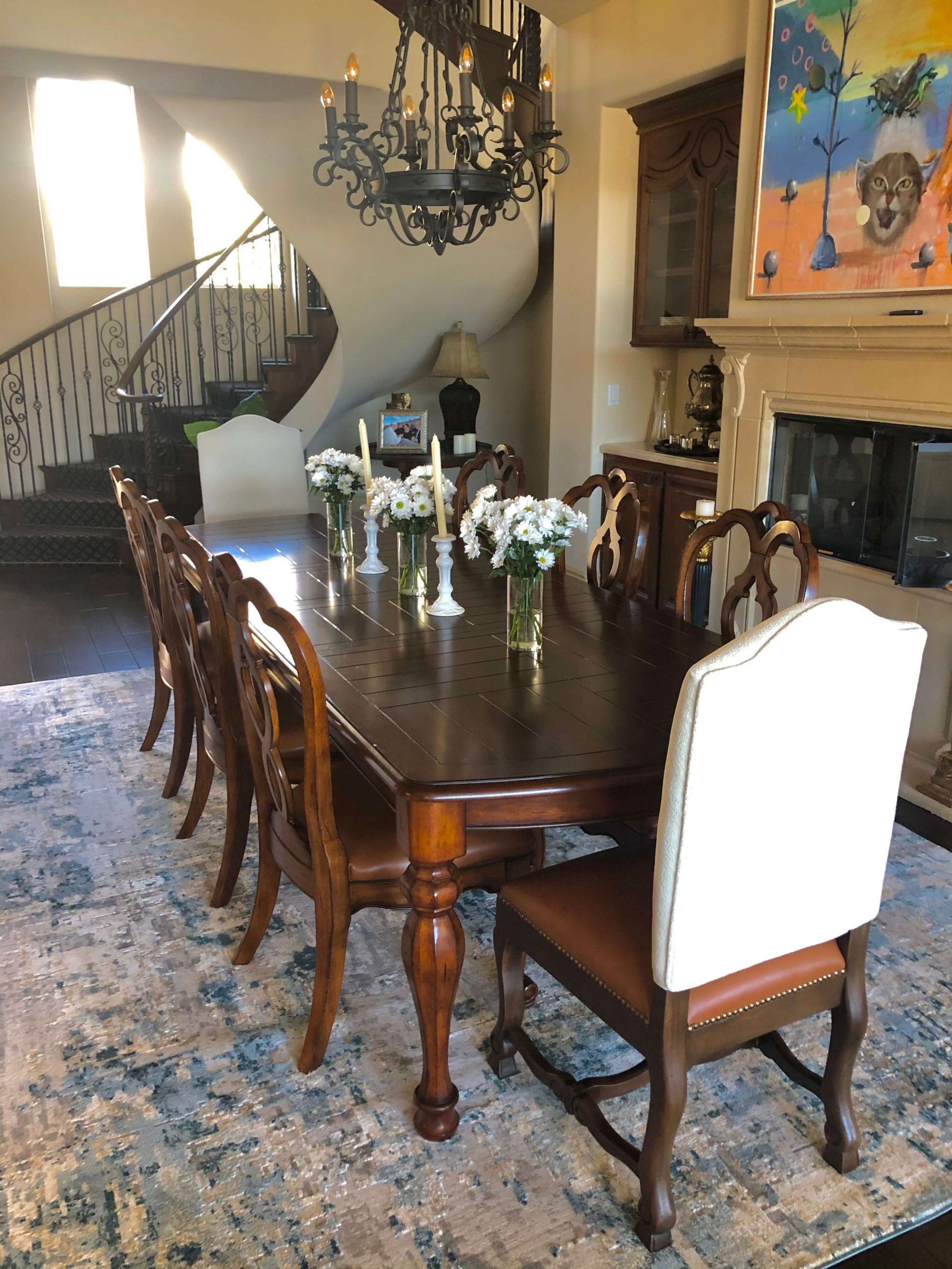 Vegas upholstery Dining Room Chairs Leather